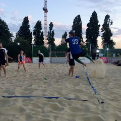 Beach Handball Training 5th July