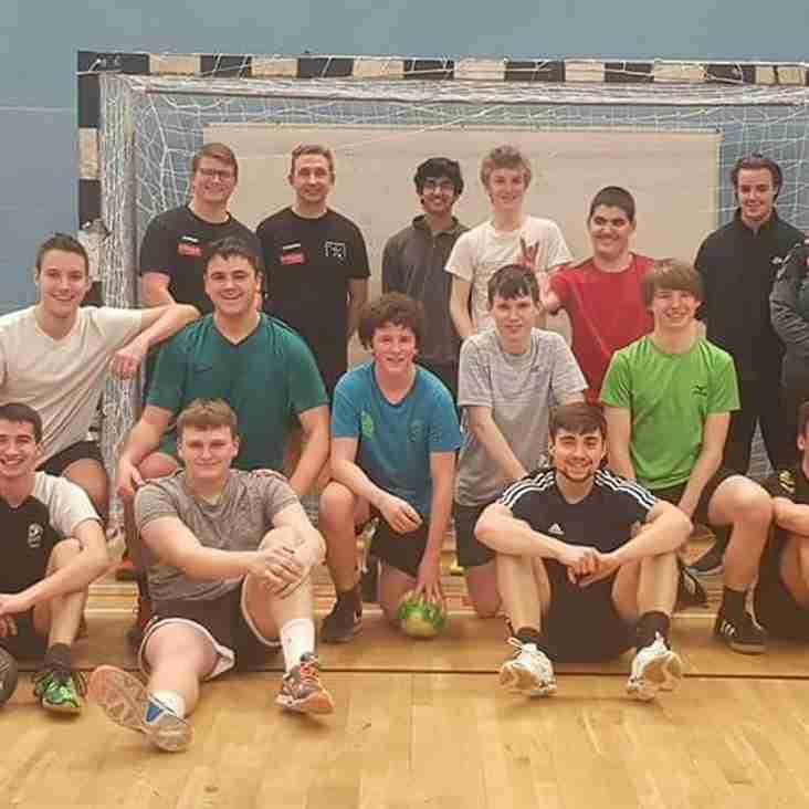 Ealing and Eagles welcome coaches from Vidar Ulkebol Handball Club