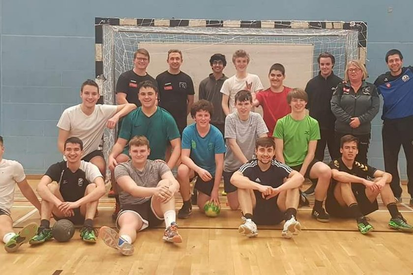 Ealing and Eagles welcome coaches from Vidar Ulkebol Handball Club