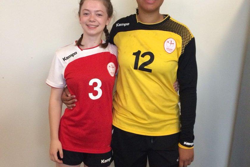 Two Eagles juniors selected for England Handball National Academy Programme