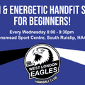 Adult beginner sessions every Wednesday from 8pm