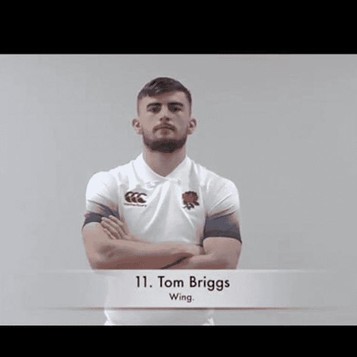 Briggsy Starts For England