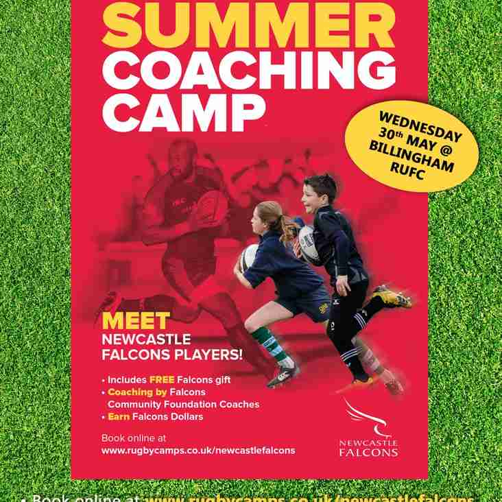 Coaching Camp Comes To Billlingham