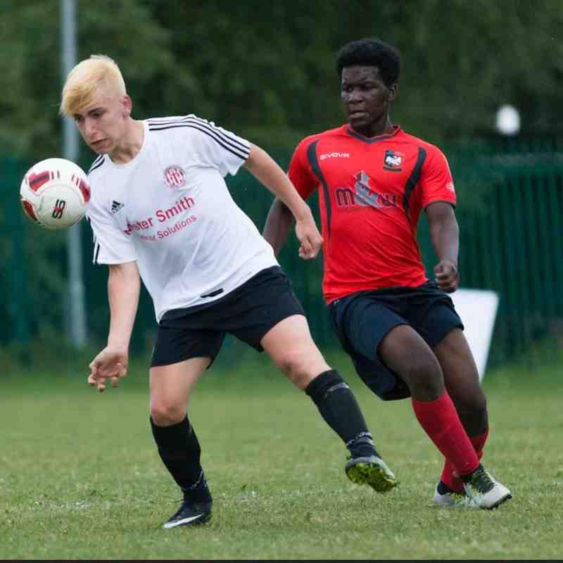 Aylesbury U18s v Risborough Rangers U21s - Photos courtesy of @MarcKeinch