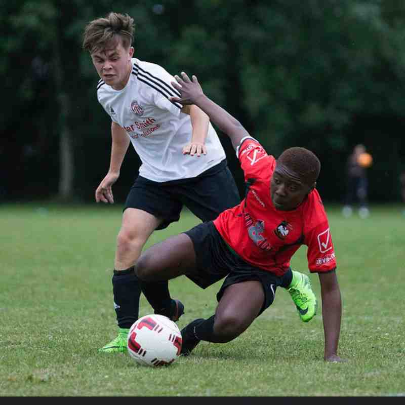 Aylesbury U18s v Risborough Rangers U21s - Photos courtesy of @MarcKeinch