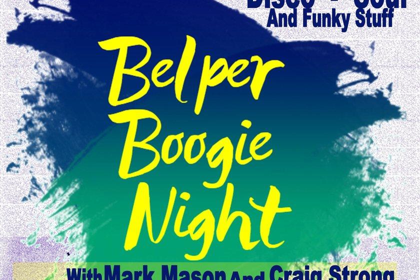 Its SOUL NIGHT again at Belper Town FC!!!!!