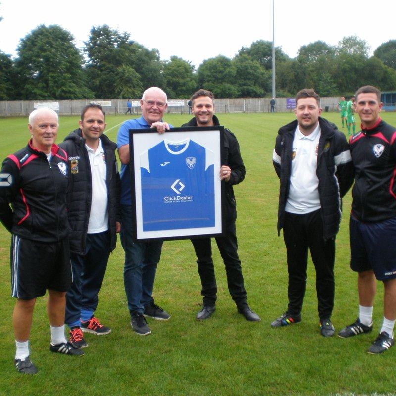 Eccleshall announce new shirt sponsor