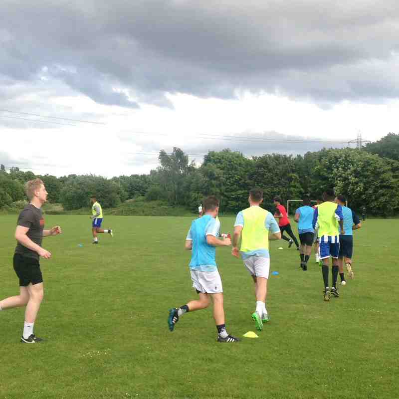 First Preseason Training Session 15th June 2017