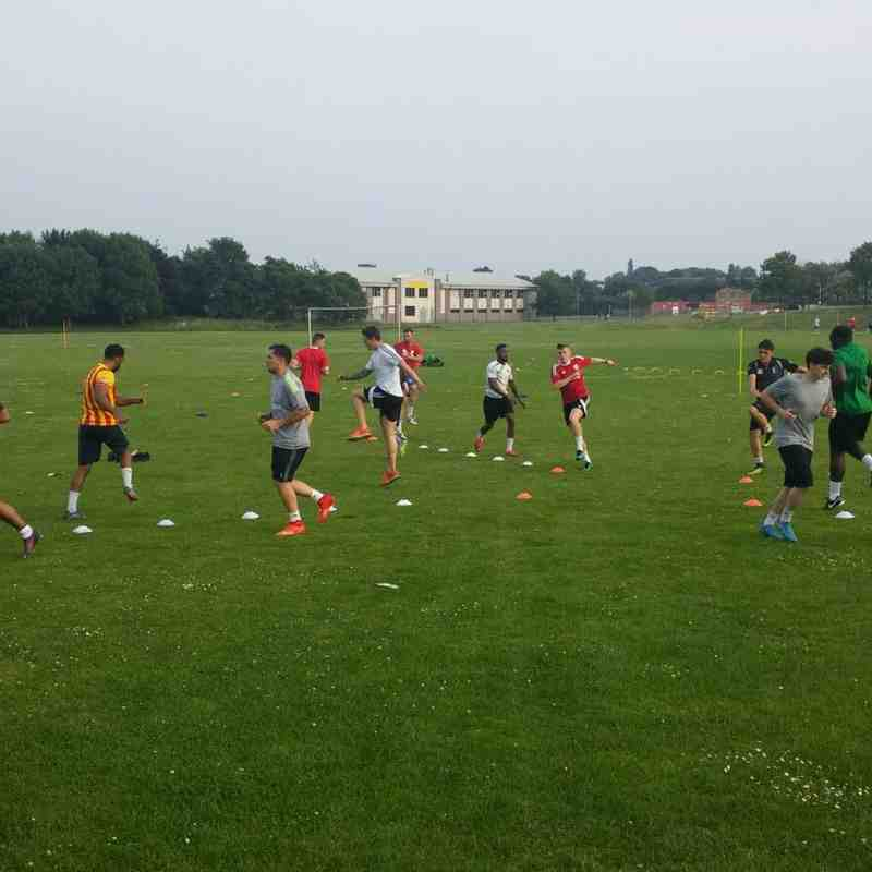Third training session 20th June 2017