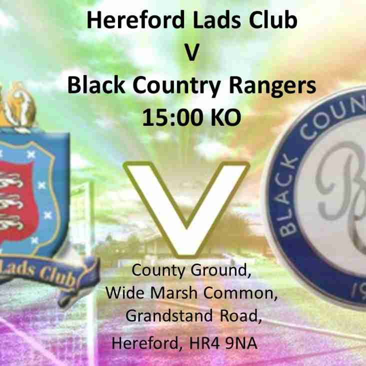 Fourth match of the season -  Saturday 19th August