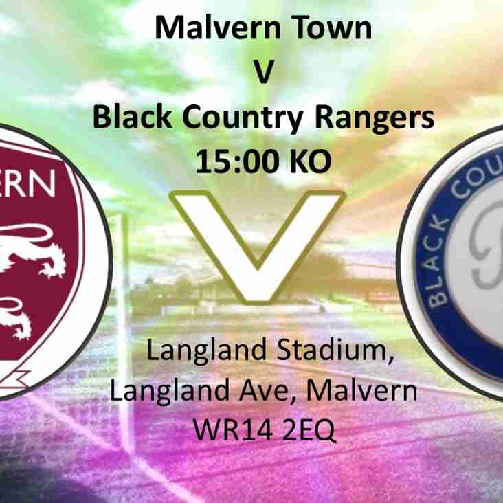 Eighth match of the season - Saturday 9th September
