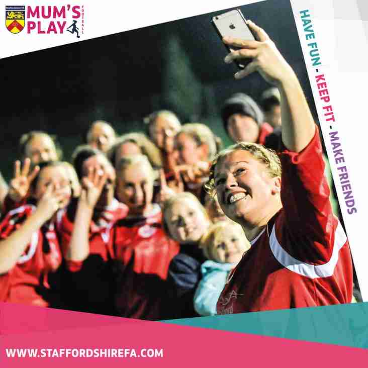 First session of 'Mum's play football' announced