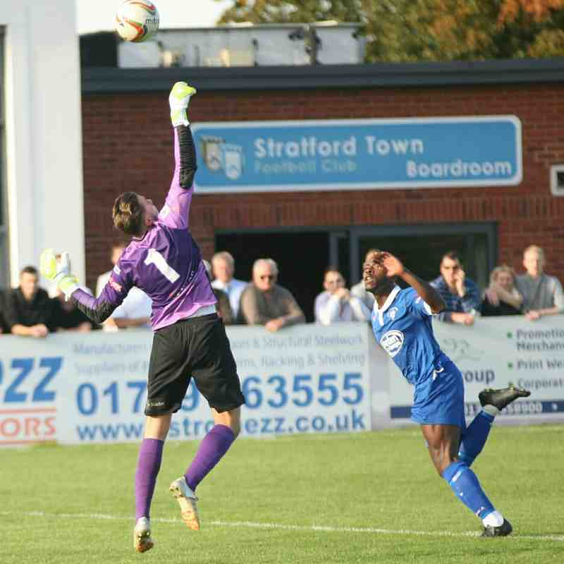 Stratford Town v Gosport Borough pics by Granty