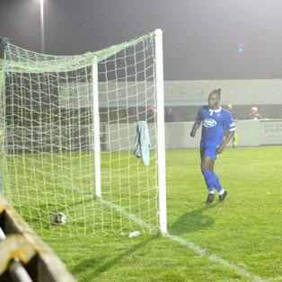 Match Report & photographs Stratford Town 1 - 3 Chesham United