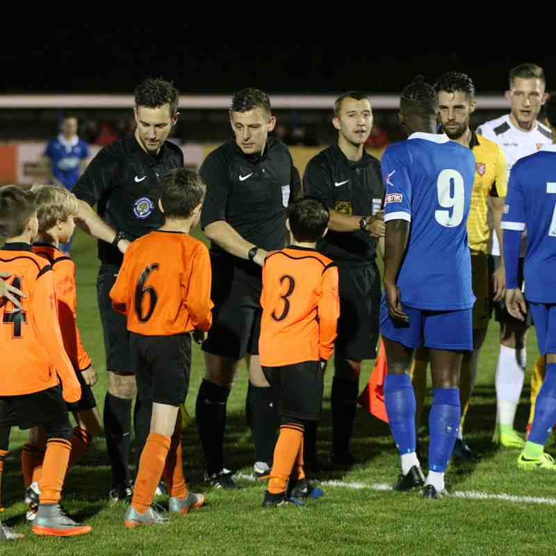 Stratford Town v Scarborough FA Cup replay