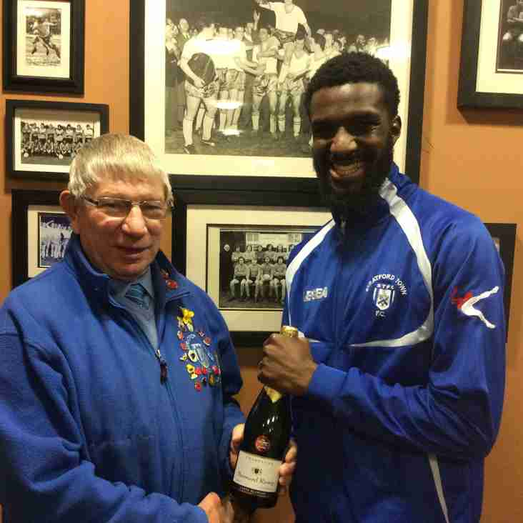 """Marston's Man of the Match vs Royston Town is Liam """"Spider"""" Francis"""
