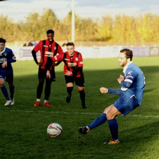 Match Report & photographs Stratford Town 3 - 1 Bishop's Stortford