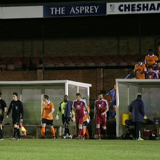 Town make it 3 wins in a Row at Chesham