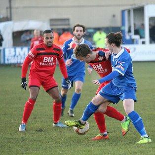The Battling Blues unbeaten run ends at Kettering