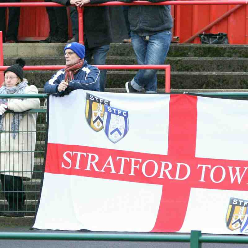 Redditch Utd 0 v 2 Stratford Town
