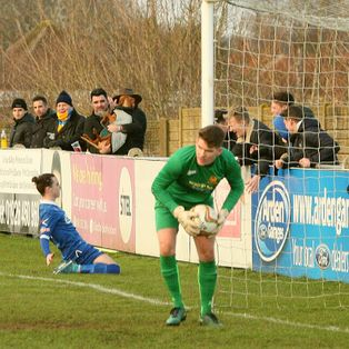 Town edged out in pulsating New Years day derby clash