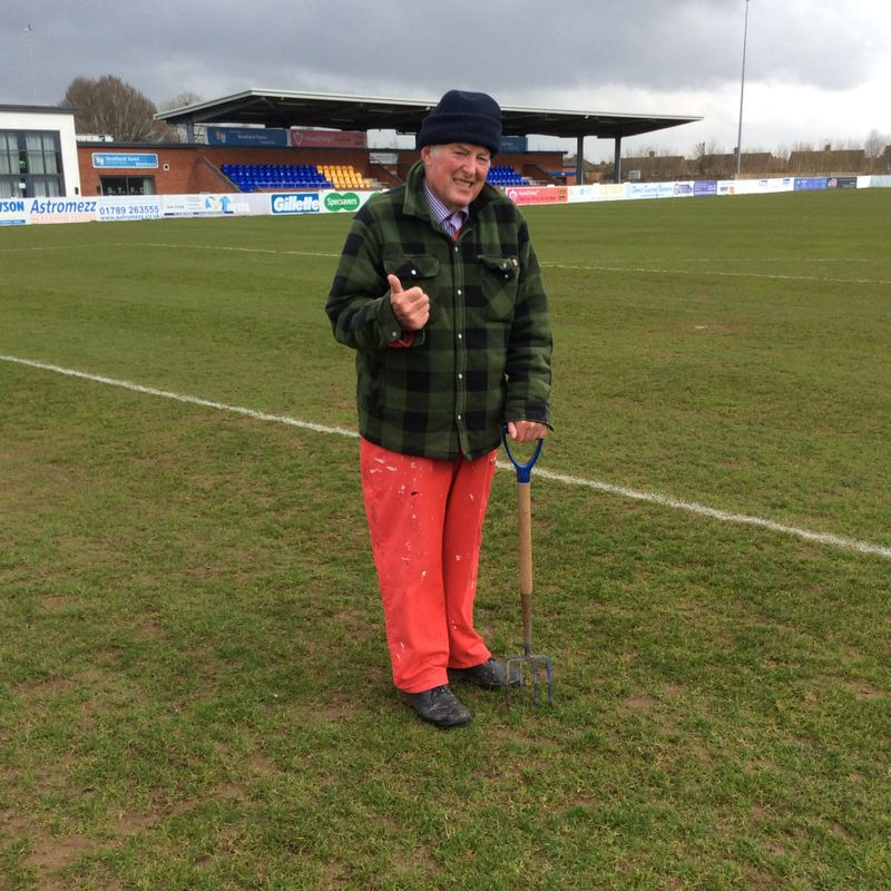 GAME ON! No pitch inspection necessary for today's visit of Kettering Town Kick off 3pm