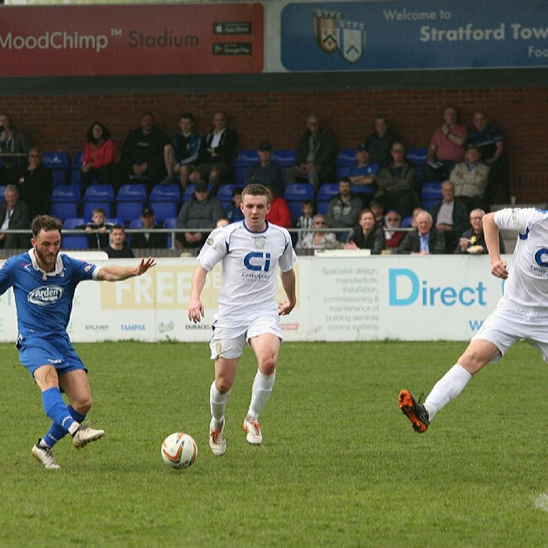 Town suffer last minute heartache as they close off their home campaign for the season