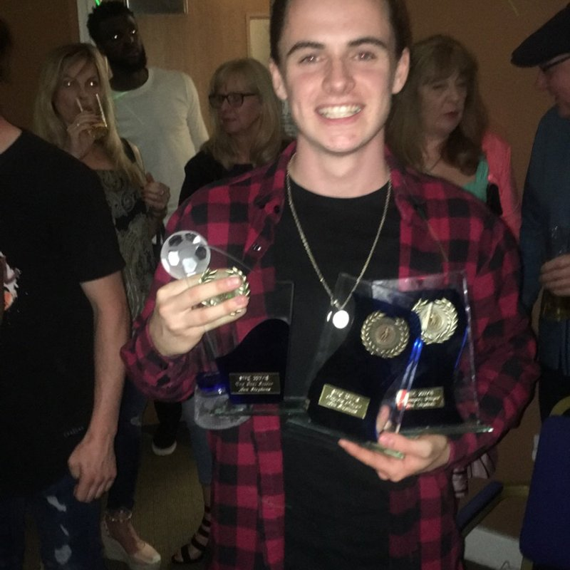 Ben Stephens comments after scooping 4 awards at the Players Awards night