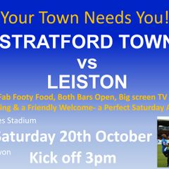 Stratford Town vs Leiston