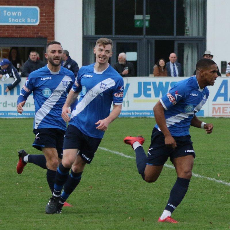 Bouyant Blues win five goal thriller