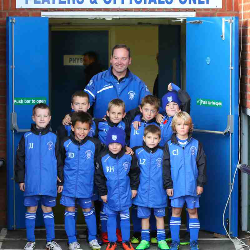 Under 8 Town Colts Mascots vs Mickleover Sports