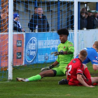 Town pegged back by Mickleover in FA Trophy