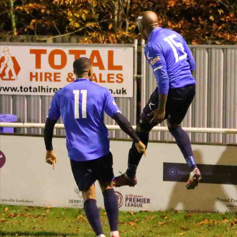 Mickleover Sports v Stratford Town FA Trophy 2QR replay pics by Granty