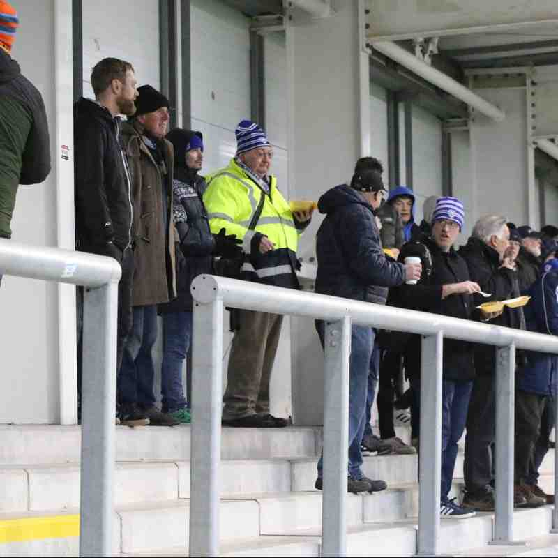AFC Fylde vs Stratford Town FA Trophy pics by Granty