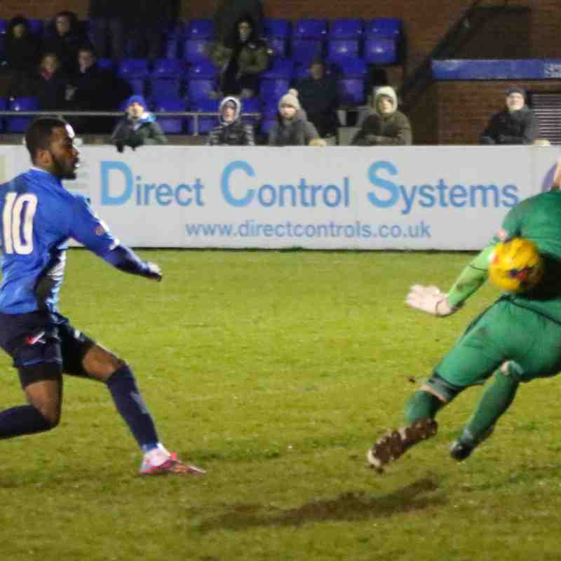 Stratford Town vs Kettering Town CSS League Cup pics by Granty