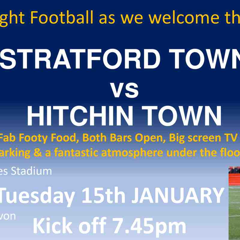 Hitchin Home Fixture 15-01-19