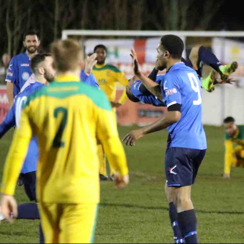 Stratford Town 2 v 0 Hitchin Town pics by Granty