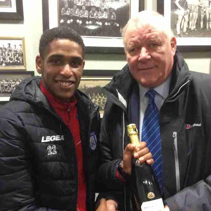 Marston's Man of the Match - Wilson Carvalho vs Hitchin