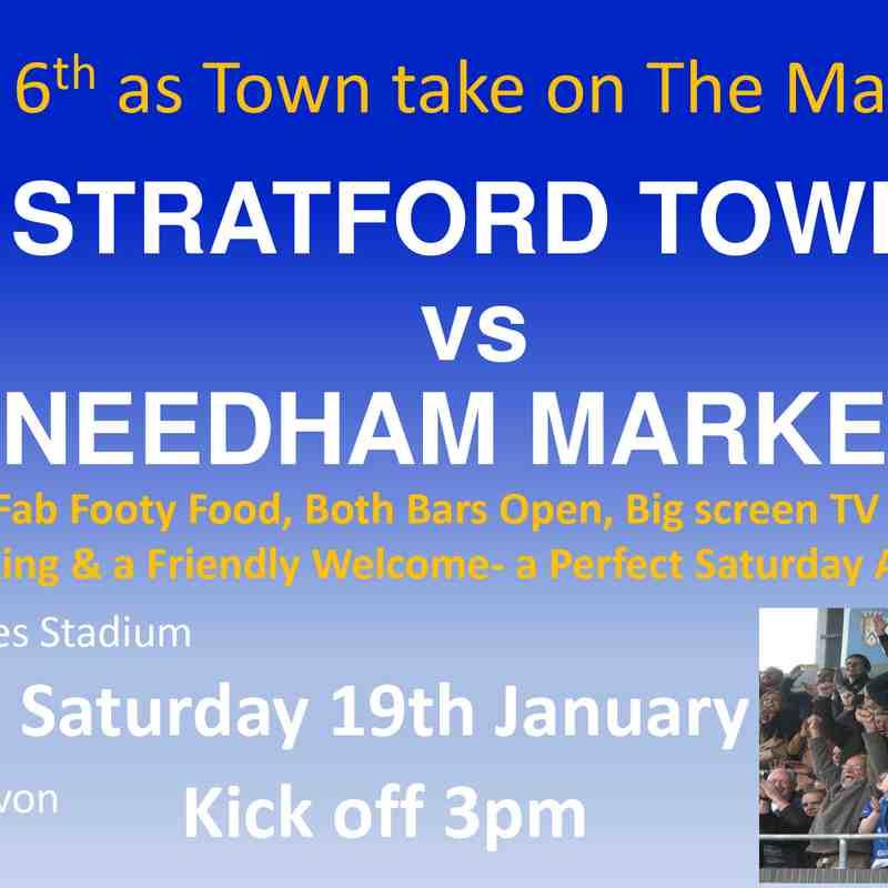 Needham Market H Fixture 19/01/19