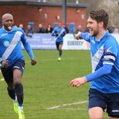 Stratford Town1 v 0 AFC Rushden & Diamonds pics by GRANTY