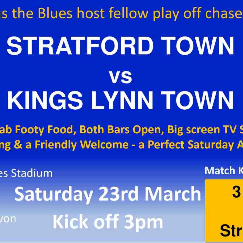 Kings Lynn H Fixture 23-03-19