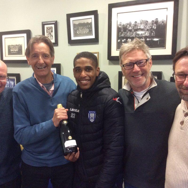 Marston's Man of the Match Wilson Carvalho vs Kings Lynn