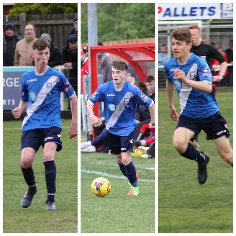 3 Stratford Town Academy Players make 1st team debuts at League Champions Kettering Town