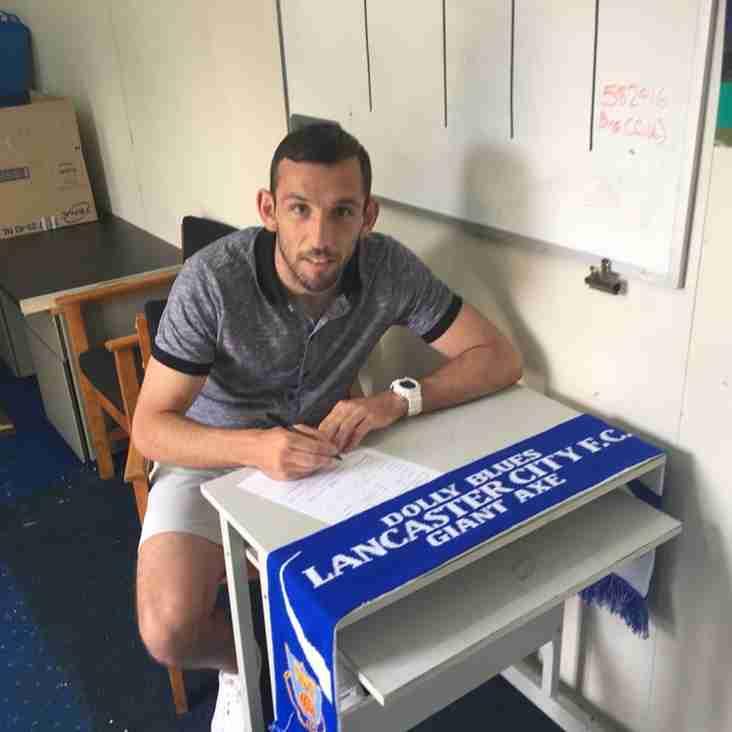 Lancaster City sign Craig Stanley!
