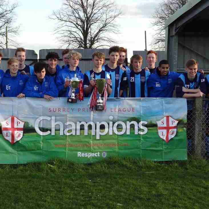 U15's win Senior Cup Final