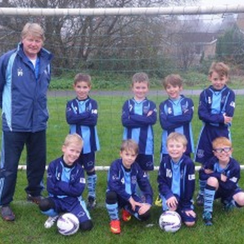 Under 12 - Lions lose to Rushmoor Community Youth Cobras 5 - 7