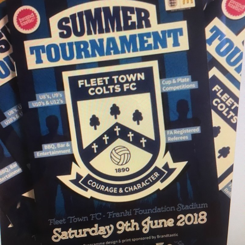 Summer Tournament Programme