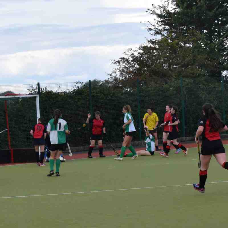 Ladies 1st Team - First match of the season 17/18