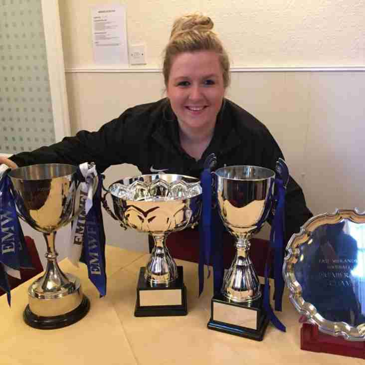 Long Eaton Ladies say farewell to manager Charlotte Healy