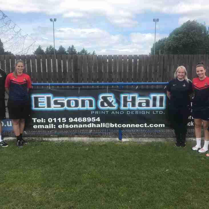 Elson & Hall Signs Again!